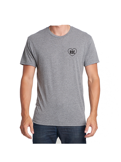 RocLove Left Chest T-Shirt