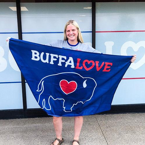 Traditional BuffaLove Flag 3ftX5ft