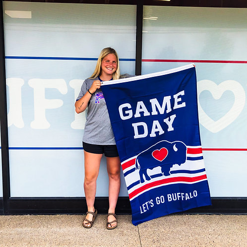 Game Day Buffalove Flag 3ftX5ft