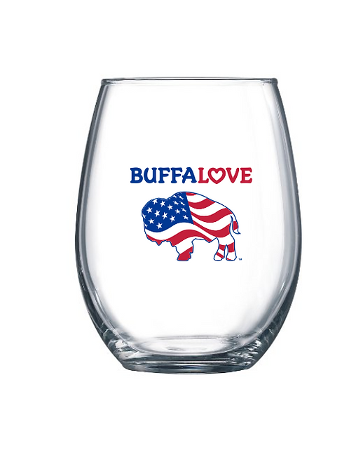 America Stemless Wine Glass