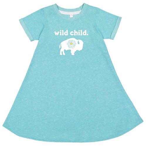 Wild Child Toddler Dress