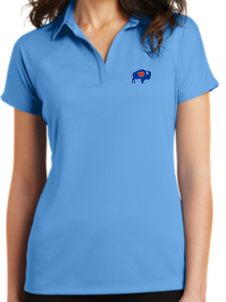 Ladies Solid Polos