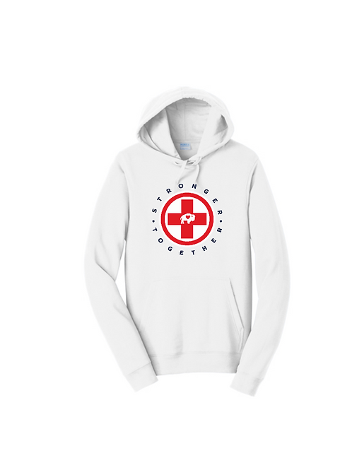 Stronger Together Cross Hoodie