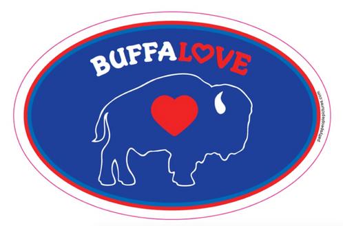 How To Buff A Car >> Buffalove Car Magnets | buffaloveapparel