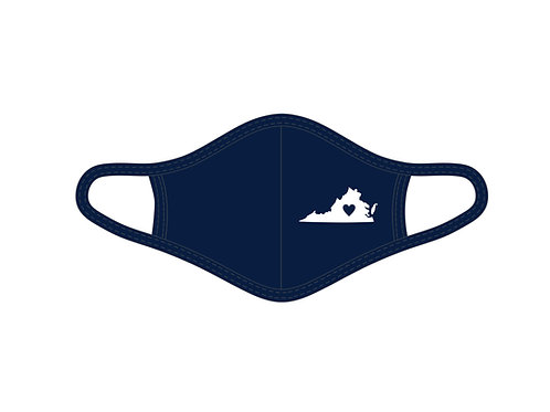 Virginia State Adult Face Mask