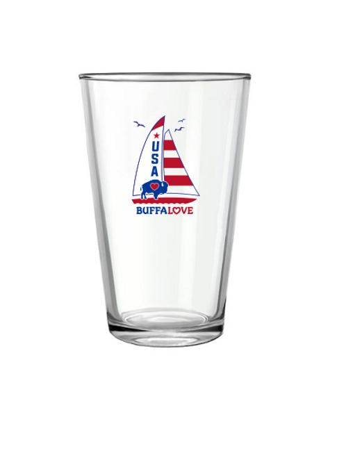 Sailboat Pint Glass
