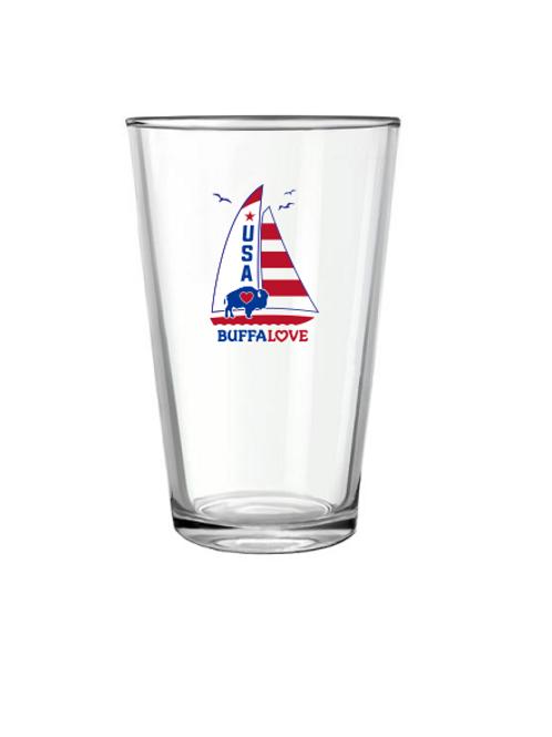 Sailboat Pint Glass