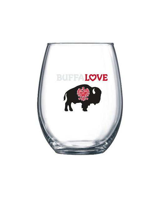 Polish Stemless Wine Glass