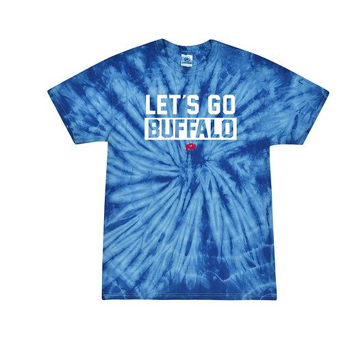 Let's Go Buffalo Tie Dye T-Shirt