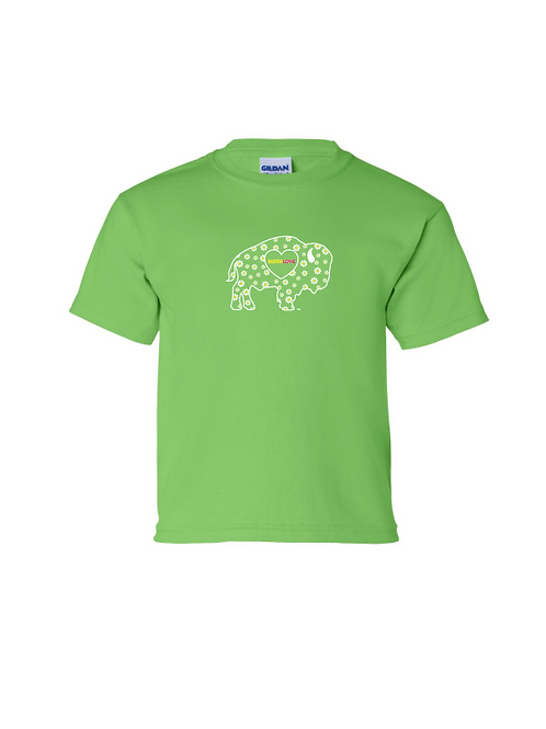 Lime Daisy Youth T-Shirt
