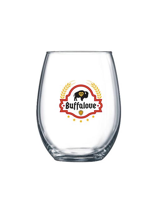 Oktoberfest Stemless Wine Glass