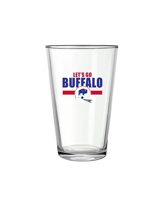Let's Go Buffalo Pint Glass