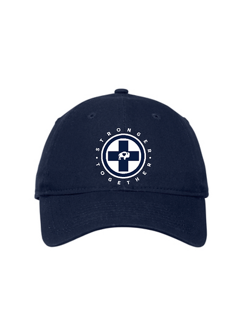Stronger Together Cross New Era Baseball Hat