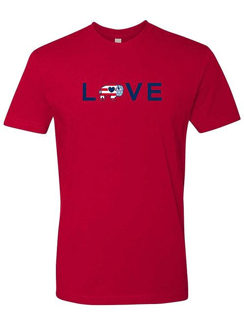 Patriotic Love T-Shirt