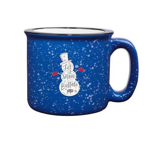 Snowman Campfire Mug