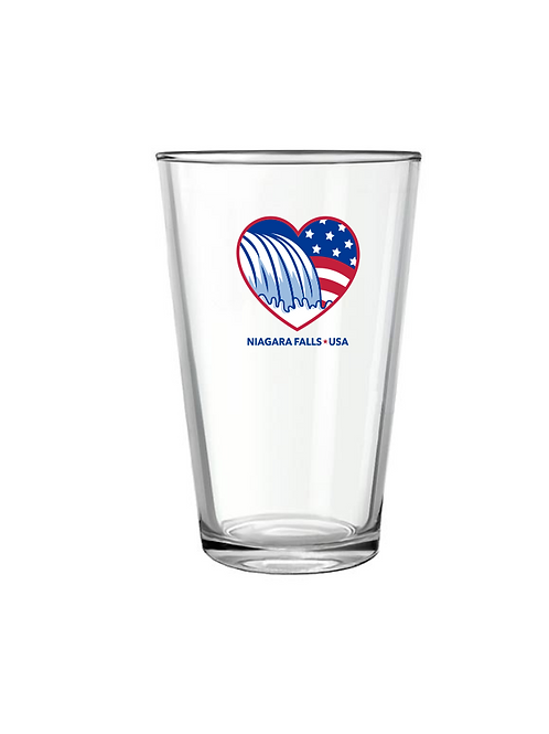 Niagara Falls Pint Glass