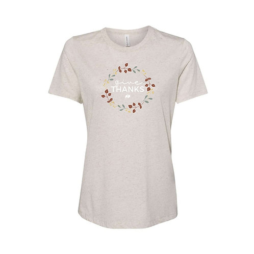 Ladies Give Thanks T-Shirt