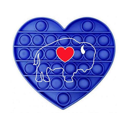 Heart BUBBLE BUF'S Popper