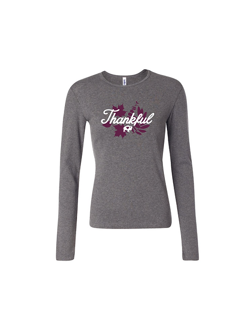 Thankful Ladies Long Sleeve