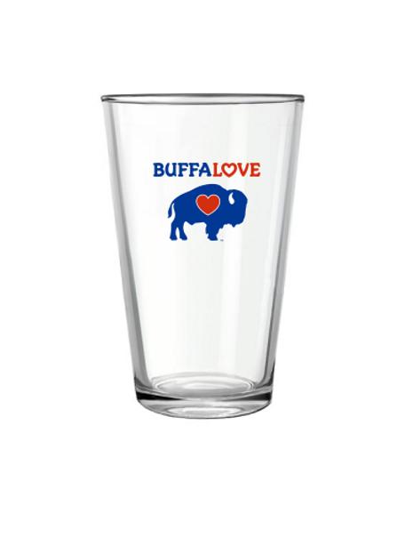 BuffaLove Pint glass