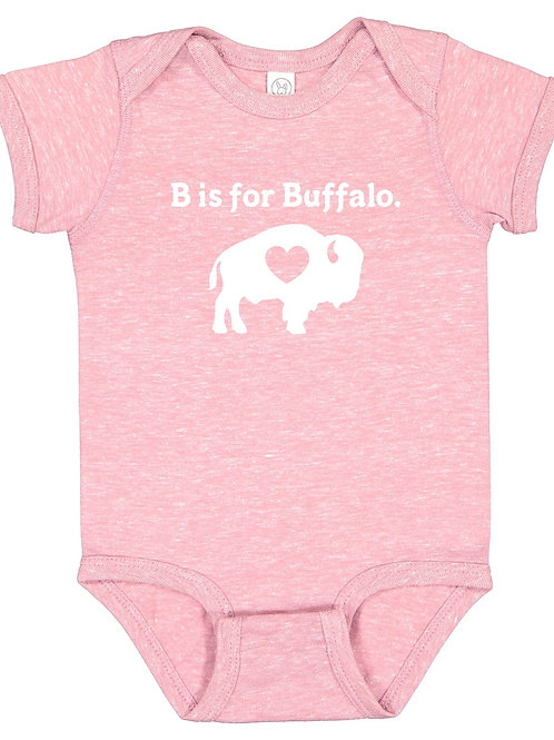B is for Buffalo Onesie