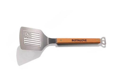 Flag Engraved Grill Spatula