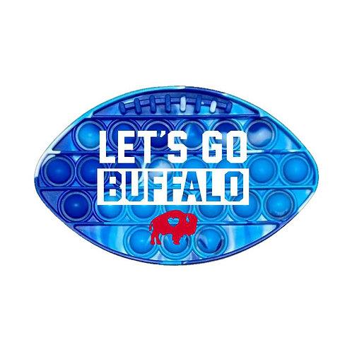 Let's Go Football BUBBLE BUF'S Popper