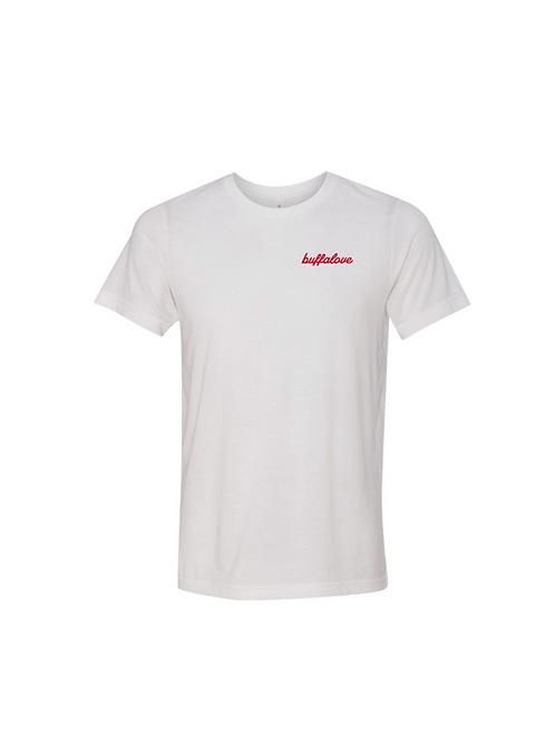 BuffaLove Left Chest Embroidered T-Shirt