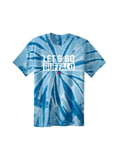 Youth Let's Go Buffalo Tie Dye T-Shirt
