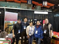 CMF @ SLS Vocation Team at Booth