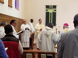 CMF Retreat Fr. Ray Presiding Mass