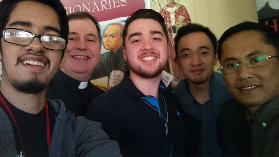 Father Ray Smith, CMF, with discerners