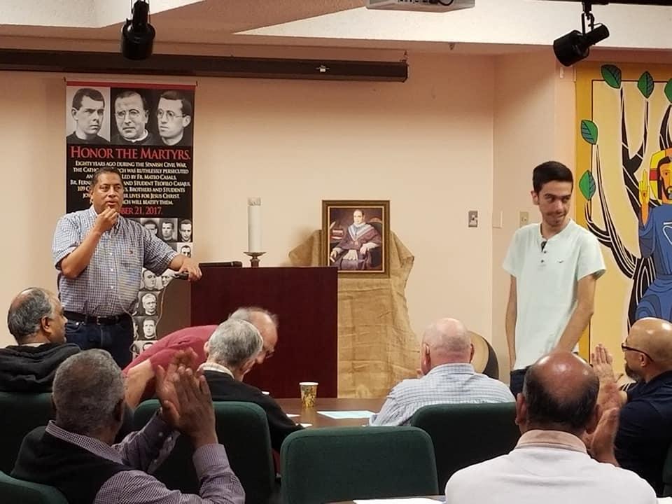 Fr. Jose and Seminarian Jose