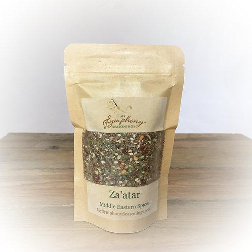 Za'atar-Middle Eastern spice blend