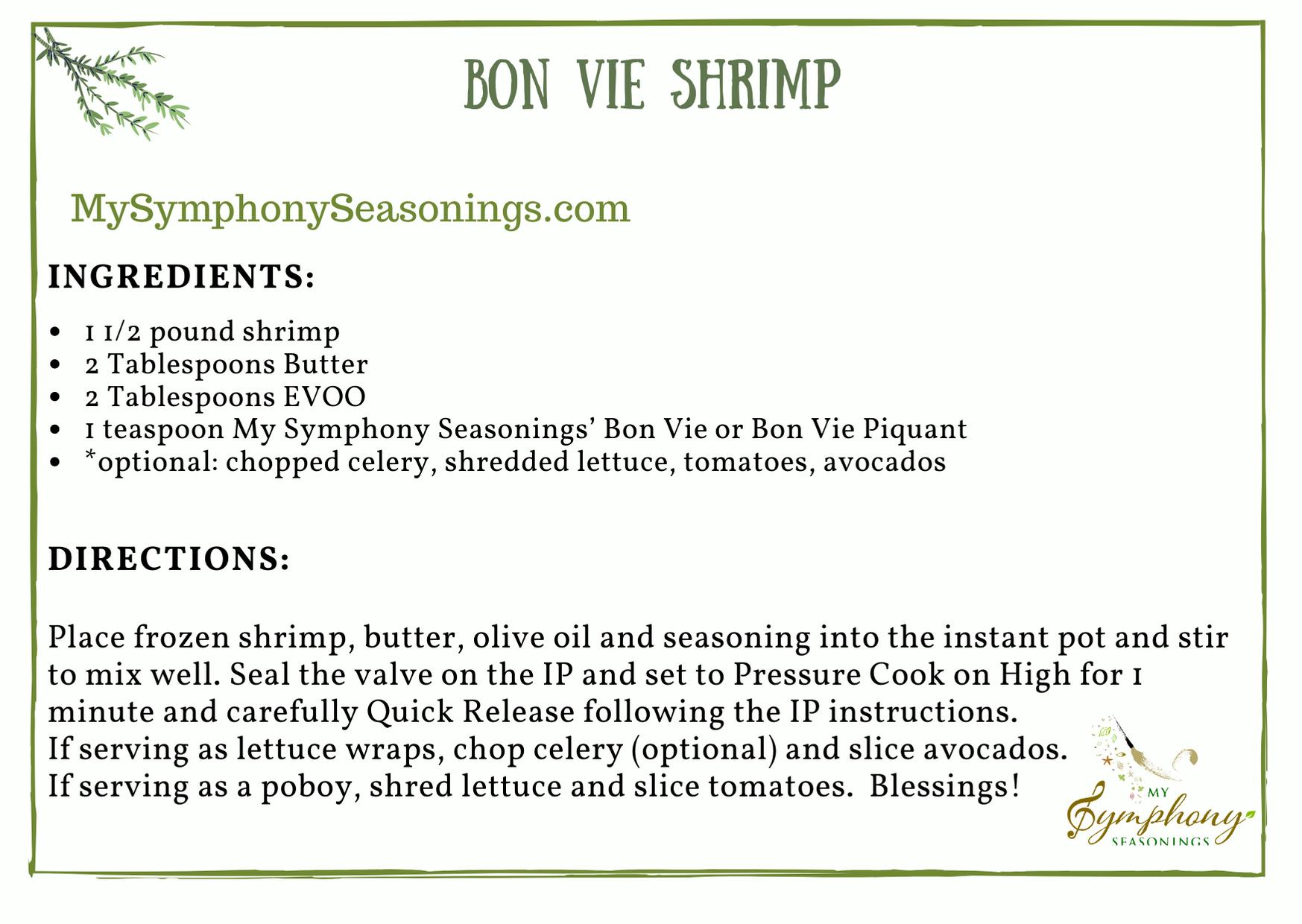 Bon Vie Shrimp