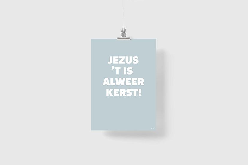 Poster  •  t' is alweer kerst