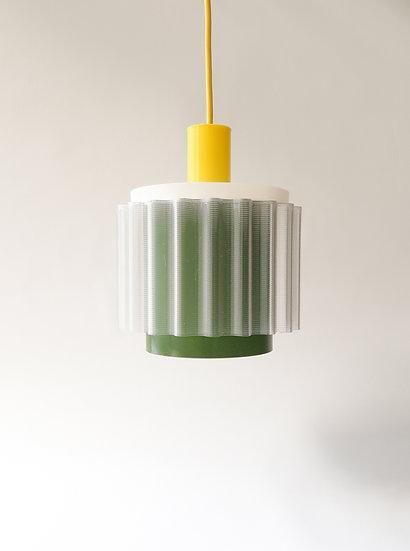 Gigi lamp n°4  | geel + groen +wit