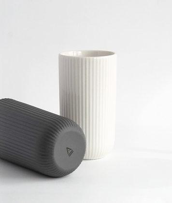 Latte mok 220 ml | wit of donkergrijs
