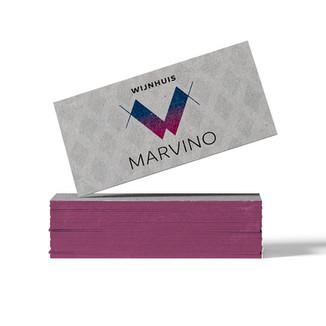 ontwerp: logo en huisstijlmiddelen Marvino