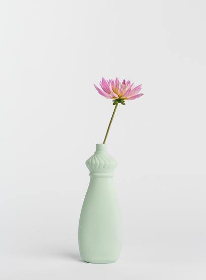 Foekje Fleur | porcelain bottle vase #15 mint