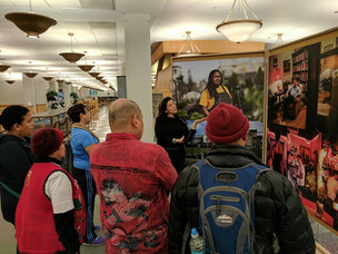 """AFIRE Members Visit the """"Working in America"""" Project at Harold Washington Library"""