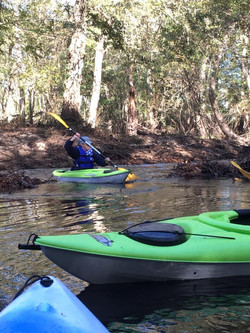 Paddling the Lowcountry rivers!