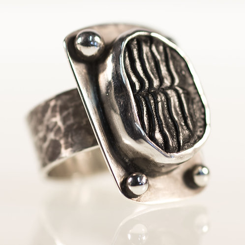 Burrfish Ring Industrial Style