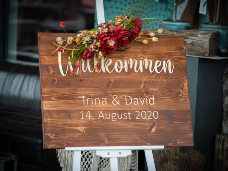Hochzeit von Irina und David