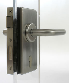 Patch Lock - Glass Door Lock