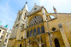 l'église Saint-Séverin