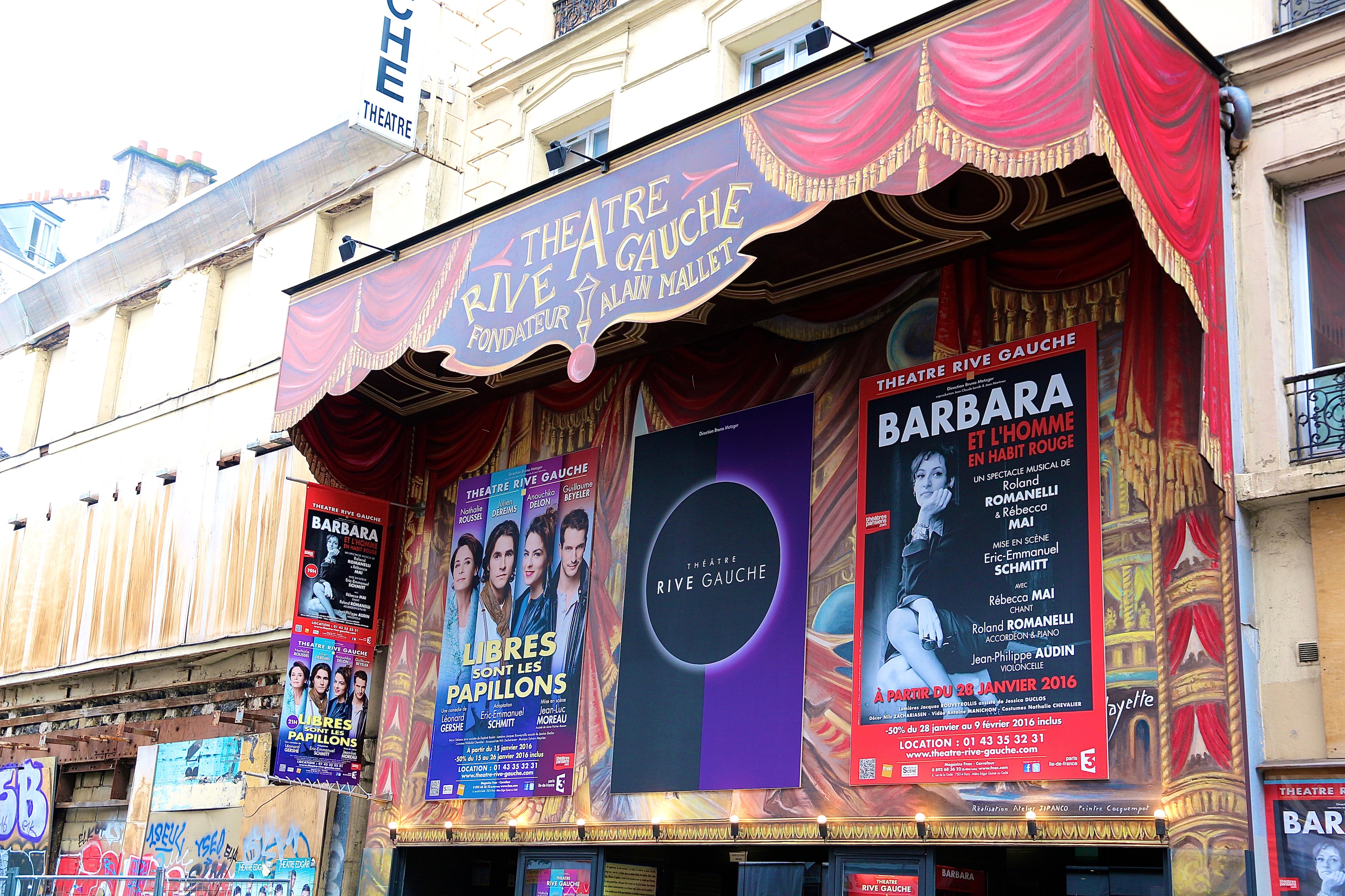 le théâtre Rive-Gauche