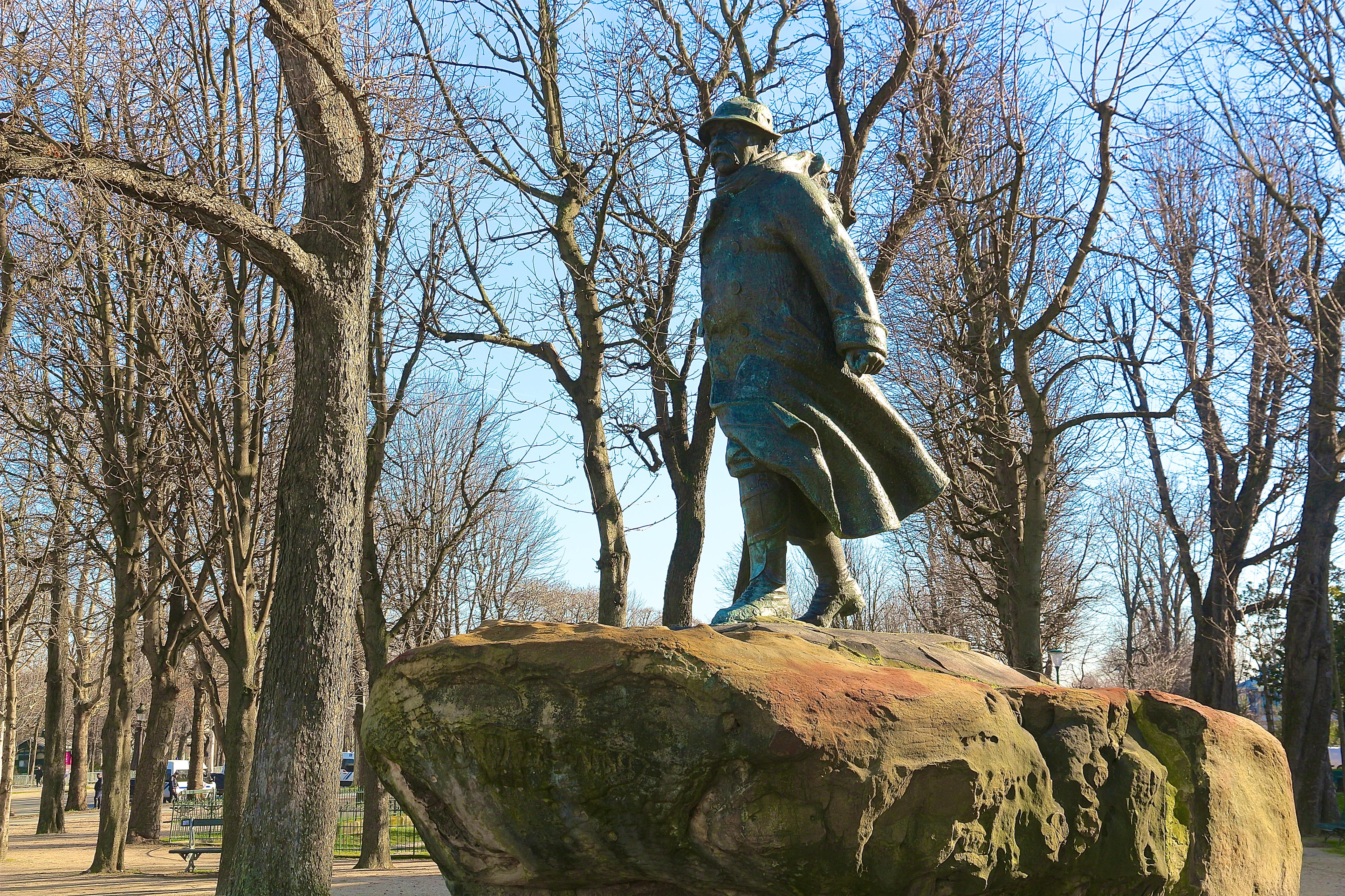 le monument à Georges Clemenceau
