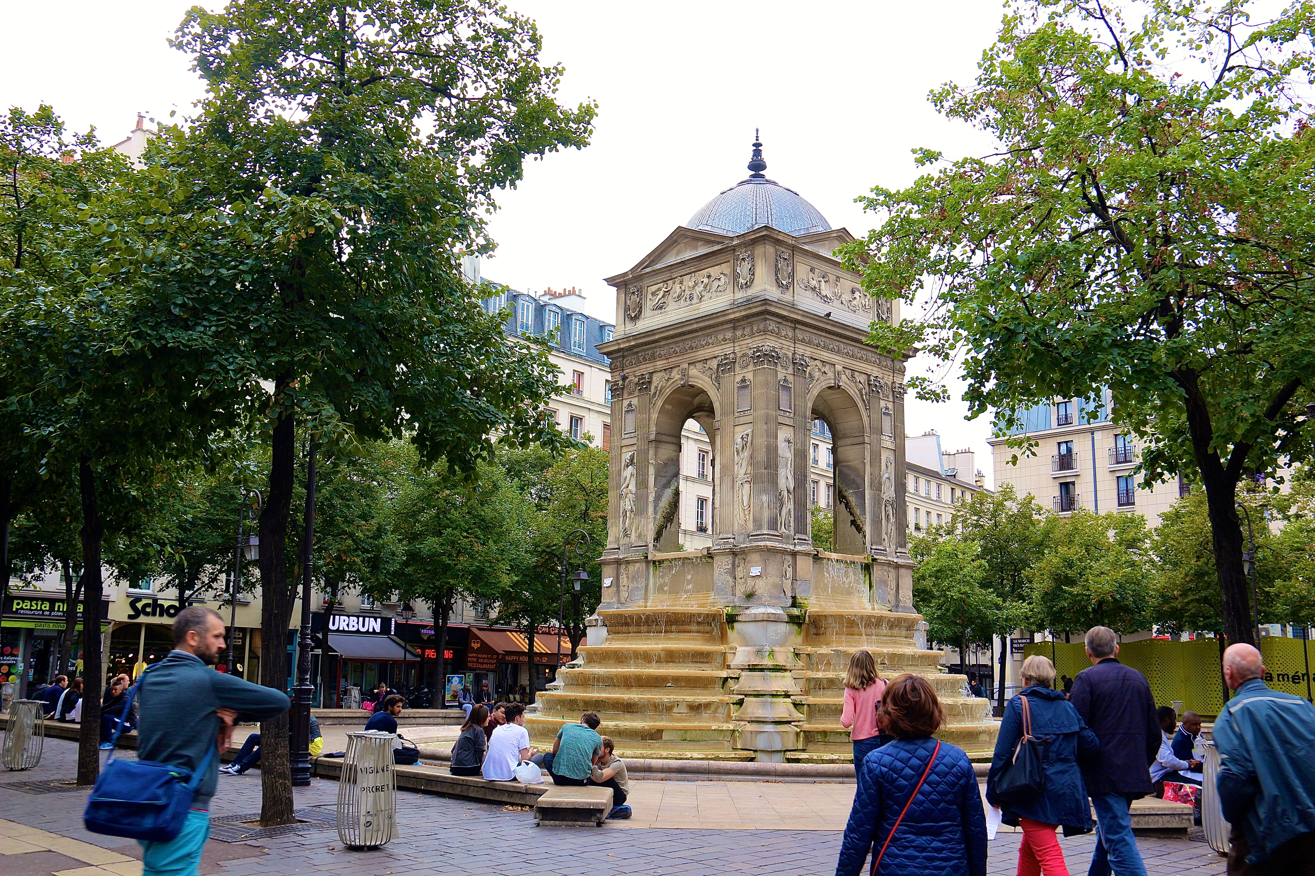 la Fontaine des Innocents