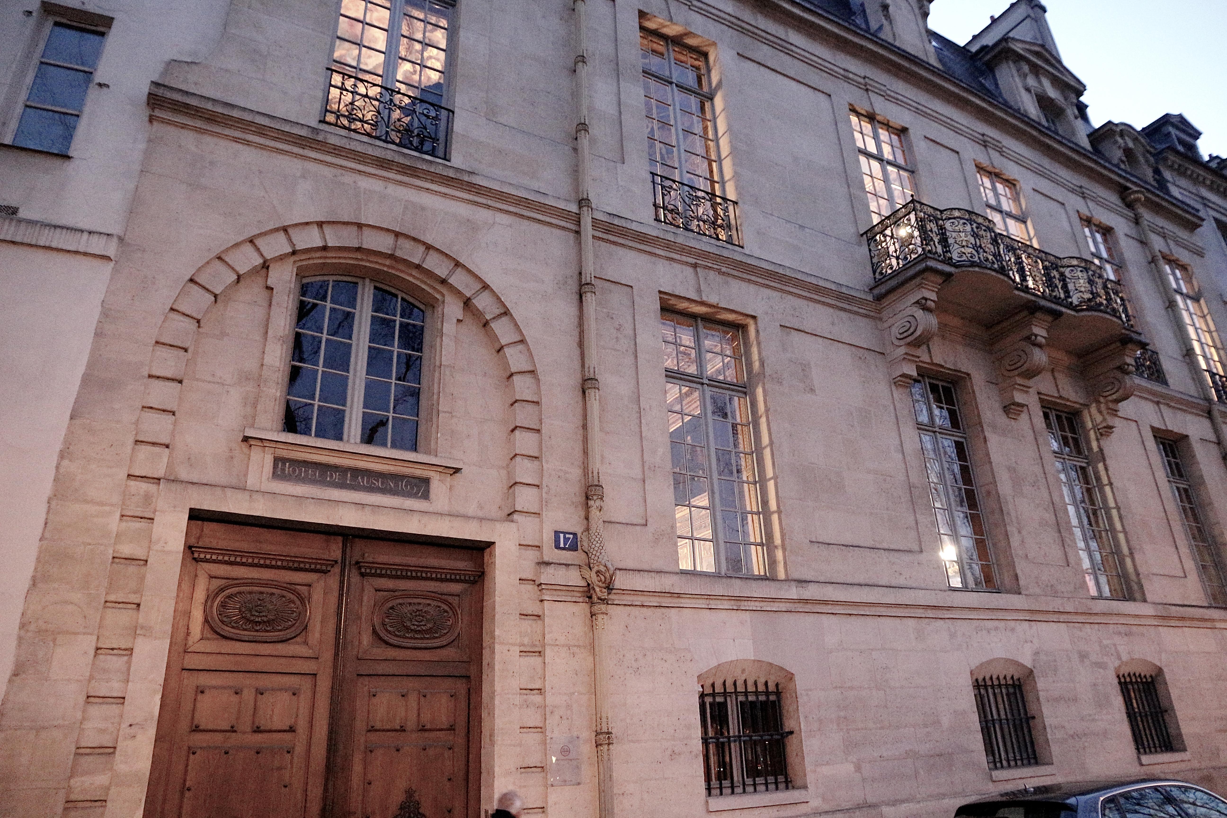 📸 l'Hôtel de Lauzun